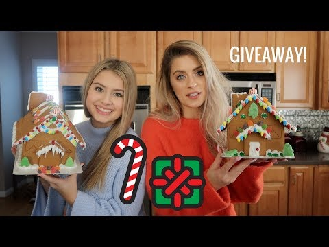 Gingerbread House Disaster With My Sister | WHITMAS Day 22