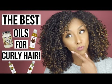 The BEST OILS for Natural/ Curly Hair! | BiancaReneeToday