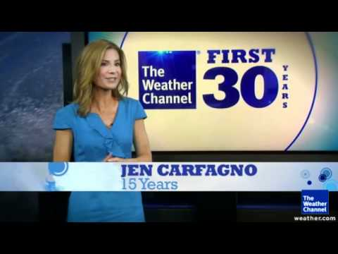 30 years of The Weather Channel History