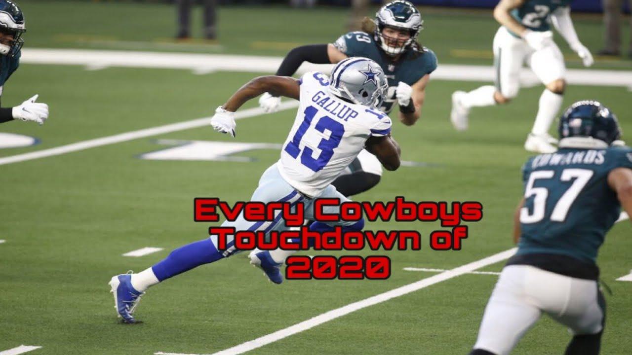Every Dallas Cowboys Touchdown of the 2020 season