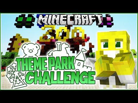 KAWAII ZOO ENTRANCE! | Minecraft Theme Park Challenge | Ep.2