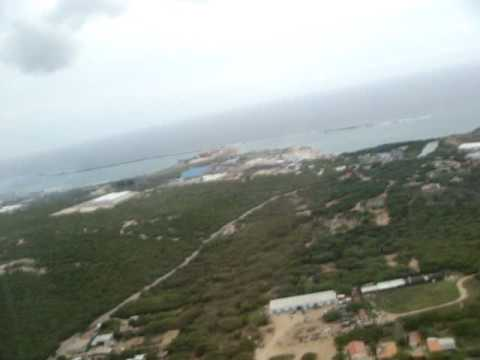 Taking off from Aruba!