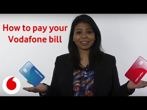 How to pay your bill through My Vodafone App