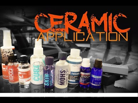 Simple Step by Step - How to apply a ceramic coating to a car