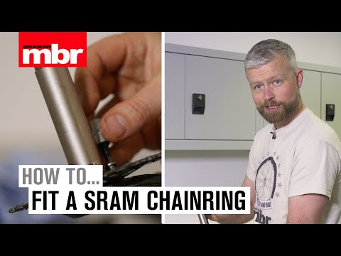 How to fit a SRAM direct mount chainring | Mountain Bike Rider