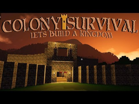 Data Play's  | Colony Survival 🏰 |  Ep 4 | Another Brick In The Wall..