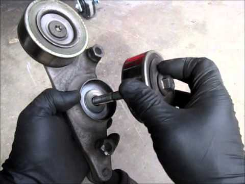 Honda Odyssey serpentine belt tensioner replacement