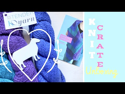 Artisan KnitCrate Unboxing - March 2018 | TeoMakes