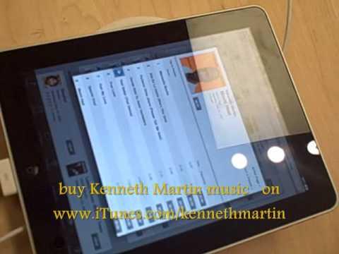 Apple iPad buy Kenneth Martin music on iTunes.wmv