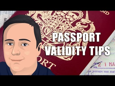 How Long Must Passport be Valid to Travel? (Travel Tips in 90 Seconds)