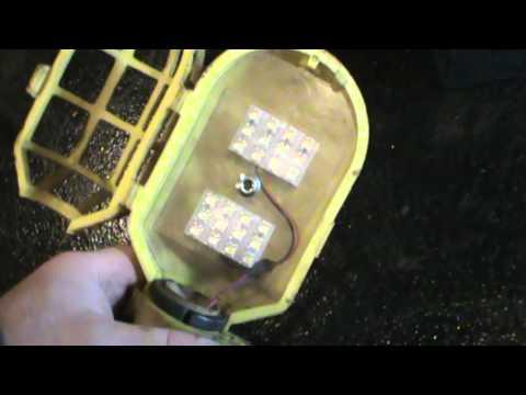 Modified 12v LED work light
