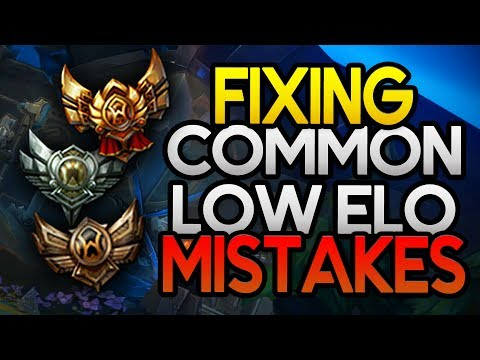 How to FIX the Most Common Mistakes at Low Elo (League of Legends)