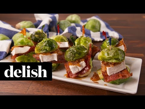 Brussels Sprouts Sliders | Delish