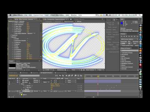 Trapcode 3D Stroke Tutorial - Introduction and Advanced Training pt 1