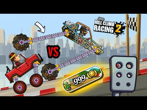 Hill Climb Racing 2 - New Event Jeep Vs Dune Buggy | 1.17.0 Update