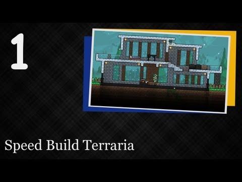 Speed Build Terraria [#1] - Modern House