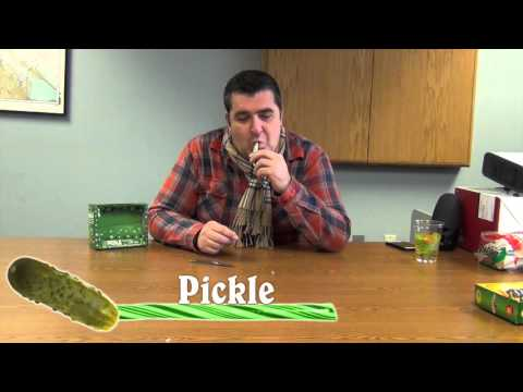 MIX108 Staff Tries Gravy, Pickle, and Bacon Flavored Candy Canes