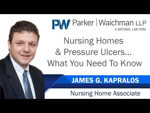 What Is A Pressure Ulcer Or Bed Sore? – NY Nursing Home Attorney James Kapralos explains
