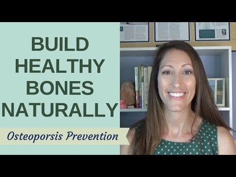 How to BOOST Bone Density & Bone Mass Naturally | Osteopenia and Osteoporosis Treatment