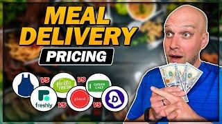 Blue Apron vs Hello Fresh vs Freshly vs Plated vs Green Chef vs Dinnerly Pricing