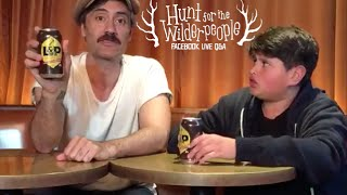 Hunt for the Wilderpeople - Facebook Live Q&A with Taika Waititi & Julian Dennison
