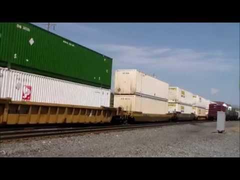 NS Train Bounces through Hershey PA
