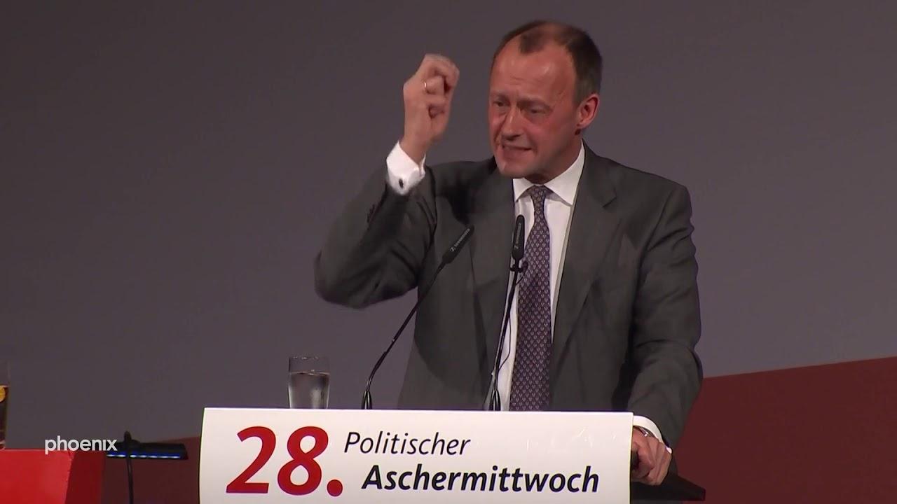 Friedrich Merz beim Politischen Aschermittwoch der CDU Thüringen am 26.02.20