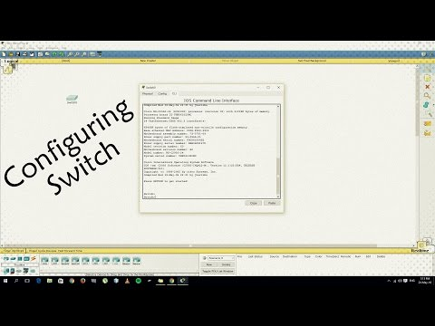 Cisco Packet Tracer : Basic Switch Configuration You must Know !