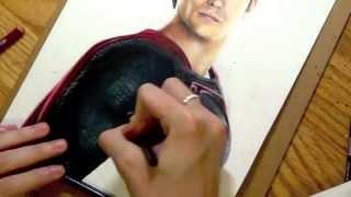 Drawing Superman Man Of Steel