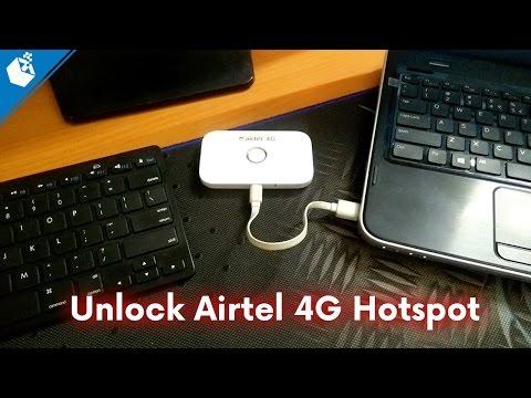 Unlock Airtel 4G Hotspot E5573s-606 Complete Guide Hindi