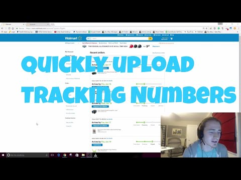 How to Quickly Upload Tracking From Walmart to eBay Manually
