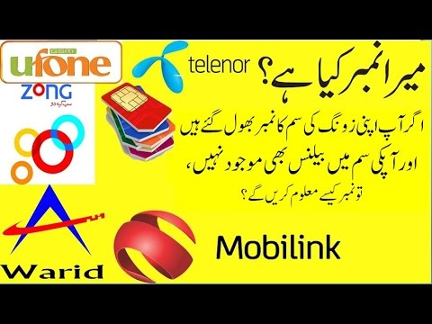 How to Check Zong Sim Number When No Balance in ZONG SIM