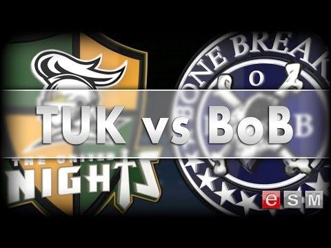 eSM | THE UNITED KNIGHTS vs BONE BREAKERS, GAME 3, 2014-04-16