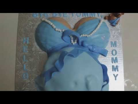 Pregnant Belly- Baby Shower Cake Idea