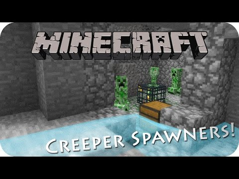 How To Change Spawner Types | Creepers, Enderman, and More! 1.8+