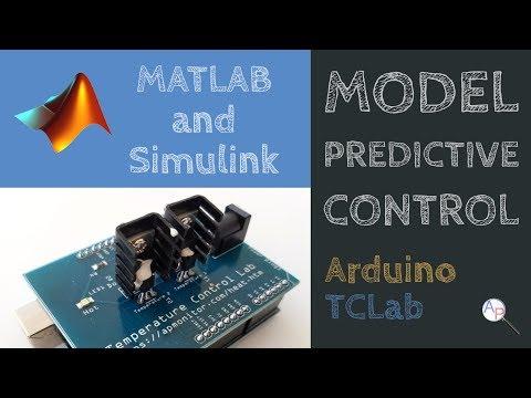 Model Predictive Control in Simulink with Arduino TCLab