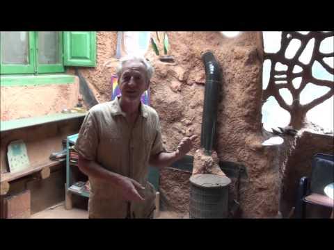 Cob Rocket stove Mass Heater Bench Workshop