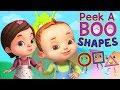 Peekaboo Shapes Song Baby Ronnie Rhymes Videogyan 3D Rhymes Kids Songs Cartoon Animation
