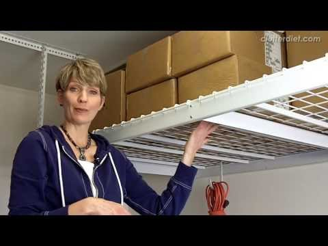 Best Quick Fix for Organizing Your Garage | Clutter Video Tip