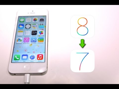 How To Downgrade iOS 8 to 7.1.2 - iPhone, iPad & iPod