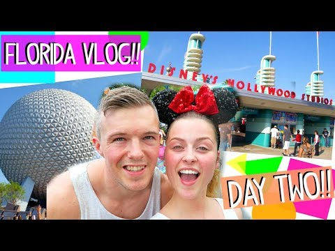 Florida Vlogs: DISNEY'S EPCOT & HOLLYWOOD STUDIO'S!! ♡ 2017