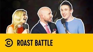Tom Allen & Larry Dean with Harriet Kemsley | Post Roast | Roast Battle
