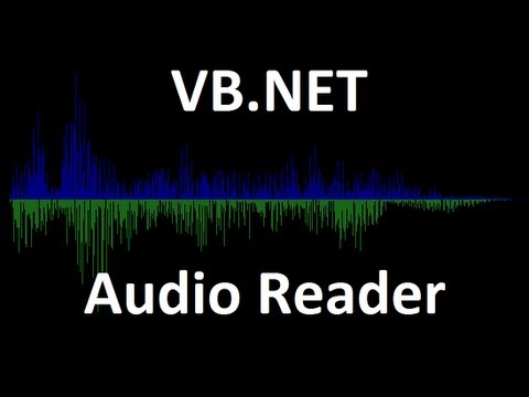 Visual Basic How To: Reading an Audio File