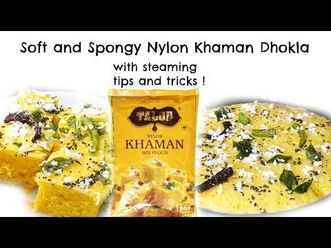 Dhokla Recipe In Hindi -Soft and Spongy Nylon Khaman Dhokla😍