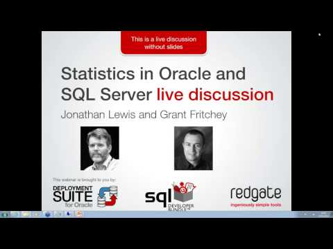 Statistics in Oracle and SQL Server