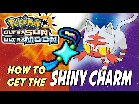 How to get the Shiny Charm in Pokemon Ultra Sun and Ultra Moon [and Pokemon Sun and Moon]