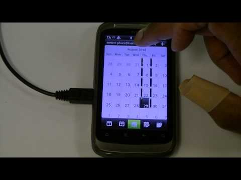 Setting the Correct Calendar on you phone (HTC Desire S)