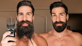 Download 8 INCH BEARD SHAVED DOWN TO 1 INCH BEARD WITH NUMBER 8 ATTACHMENT Video
