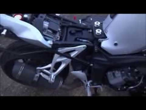 BMW K1200R oil change / wymiana oleju