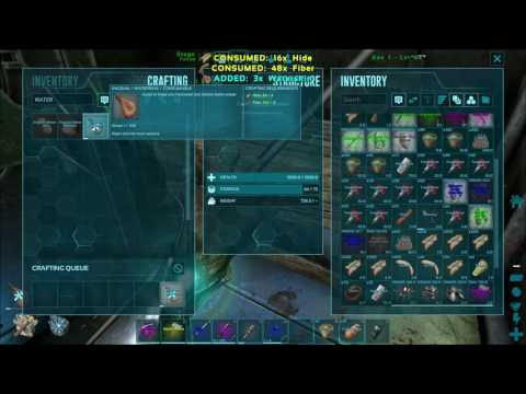 How to get Waterskins - Ark Survival Evolved